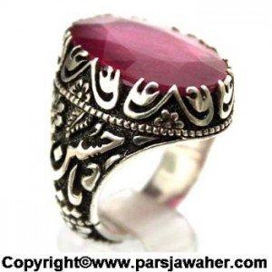 انگشتر یاقوت سرخ رکاب صادقی ۱۰۰۱