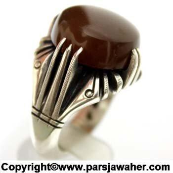 انگشتر جزع یمنی 3018