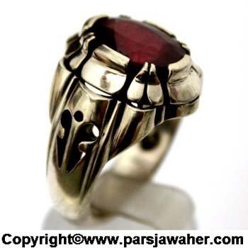 انگشتر یاقوت سرخ چیچک مقدمی 228