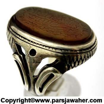 انگشتر مردانه خطی کوپال 2343