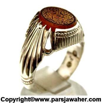 انگشتر رکاب فدیوم خانی 2228