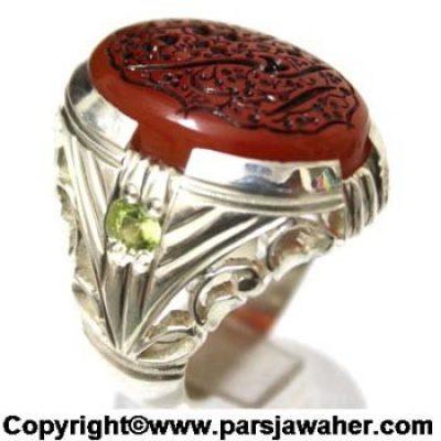 انگشتر مردانه خط میرزا 2869
