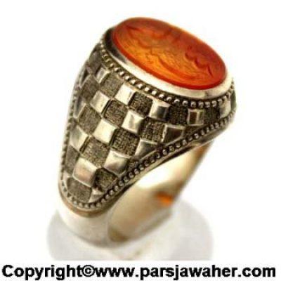 Rolex Style Fedium Ring Ya Habib Allah