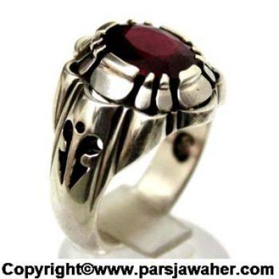 انگشتر یاقوت سرخ 240