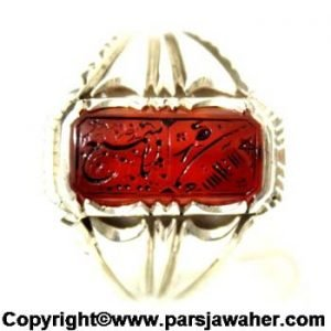 نگین انگشتر شرف الشمس میرزا 2400