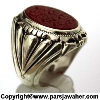 Silver Men's Ring Bigloo 2810