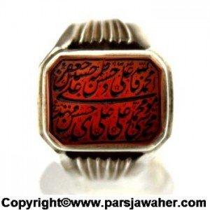 نگین انگشتر خط مهر 8416