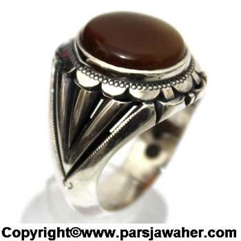 انگشتر جزع یمانی 3009