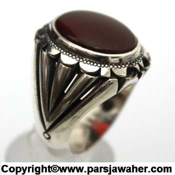 انگشتر عقیق یمنی 1026