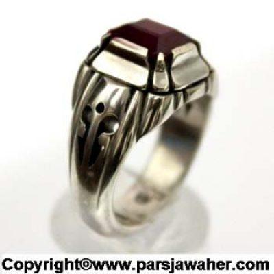 انگشتر یاقوت سرخ 1026