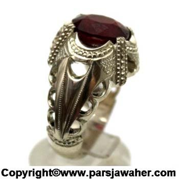 انگشتر یاقوت سرخ 1025