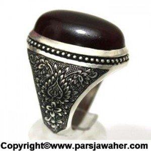 انگشتر مردانه عقیق یمنی ۲۹۲.1