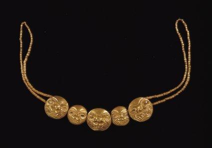 گردنبند طلای قدیمی