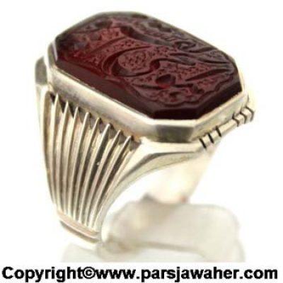 Silver Men's Ring 2833