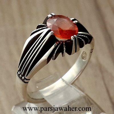 انگشتر نقره یاقوت سونچیا 319