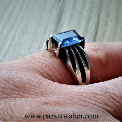انگشتر جواهر تانزانیت 369