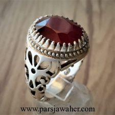 انگشتر یاقوت سرخ افریقایی 1049