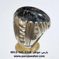 انگشتر عقیق شجر مردانه 210