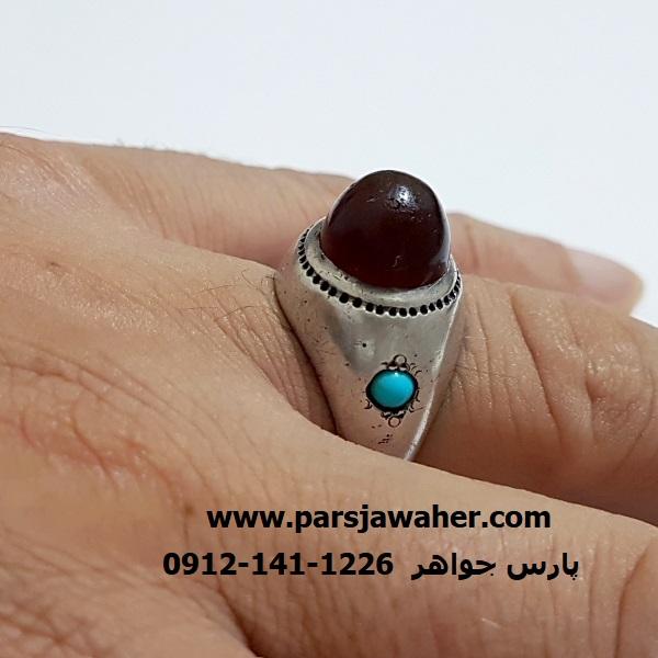 انگشتر آنتیک رکاب نقره دست ساز a342