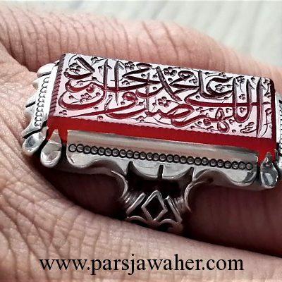 رکاب مردانه نقره دست ساز شبکه 8251