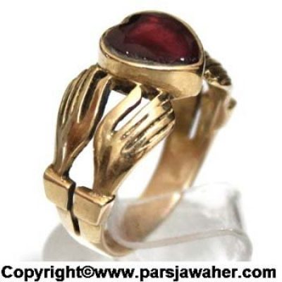 burma ruby golden ring 1022
