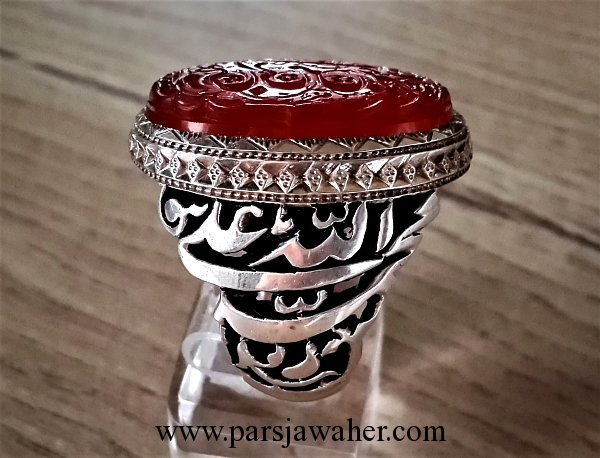 رکاب نقره دست ساز عجمی 2591