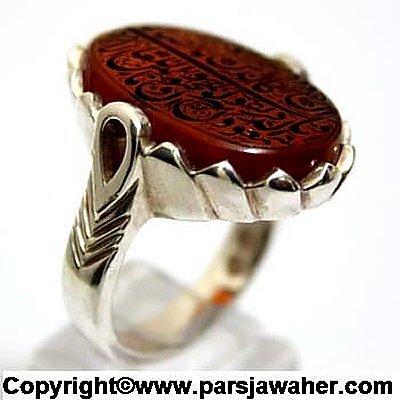 انگشتر مردانه نقره دست ساز 2632
