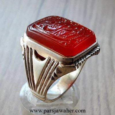 انگشتر میرزا رکاب نقره دست ساز 2867