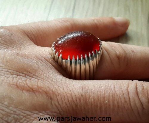 انگشتر عقیق کهنه یمنی 360