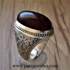 انگشتر مردانه نقره دست ساز 390