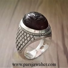انگشتر مردانه کوپال جزع F103