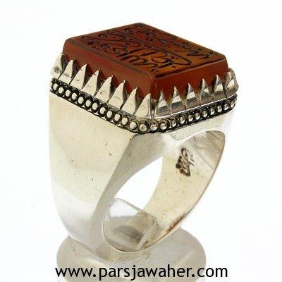 انگشتر مردانه ایران خطایی 8529