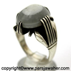 انگشتر سه پوست چهار چنگ احمدی 352
