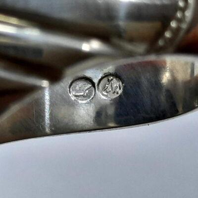 انگشتر تورمالین چشم گربه ای f491.7