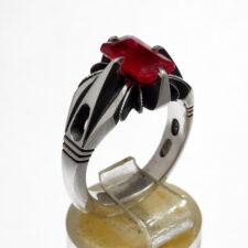 انگشتر جواهر یاقوت سرخ 372