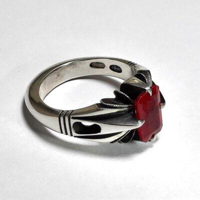 انگشتر جواهر یاقوت سرخ 372.2