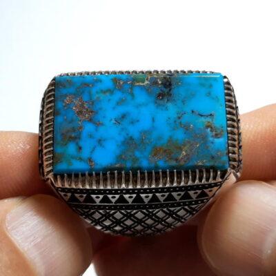 انگشتر مردانه فیروزه نیشابور 236.1