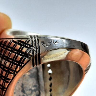 انگشتر مردانه فیروزه نیشابور 236.4