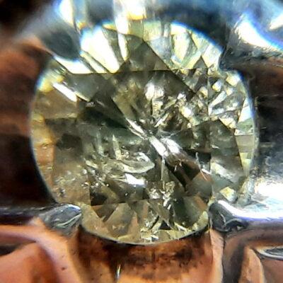 انگشتر نقره مردانه الماس 327.3
