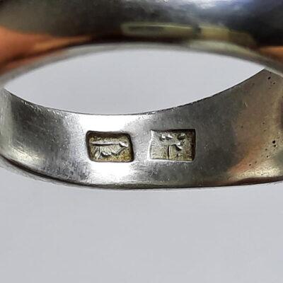 انگشتر نقره مردانه الماس 327.4