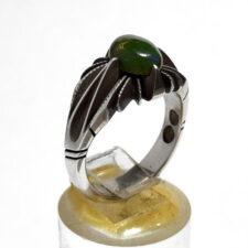 انگشتر نقره اوپال سبز 328