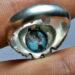 عکس ریز انگشتر نقره فیروزه نیشابور 234.6