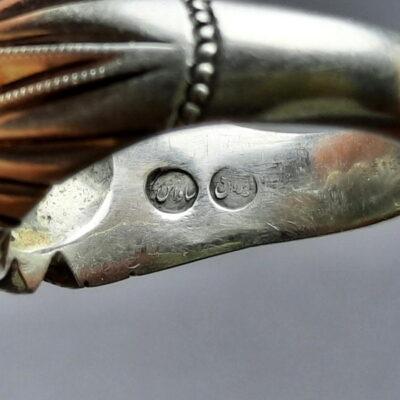 انگشتر نقره فیروزه نیشابور 234.5
