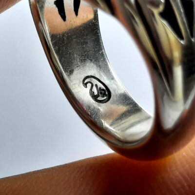 انگشتر نقره مردانه خاص 330.6