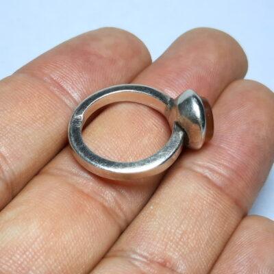 انگشتر زنانه عقیق خطی 7121.3