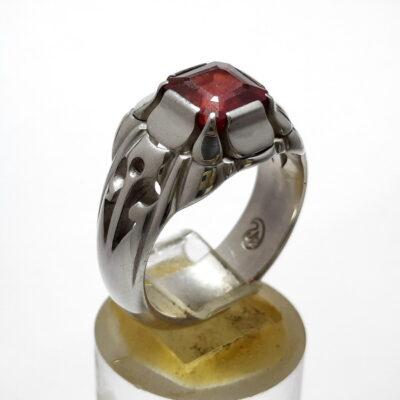 انگشتر یاقوت سرخ مردانه 376