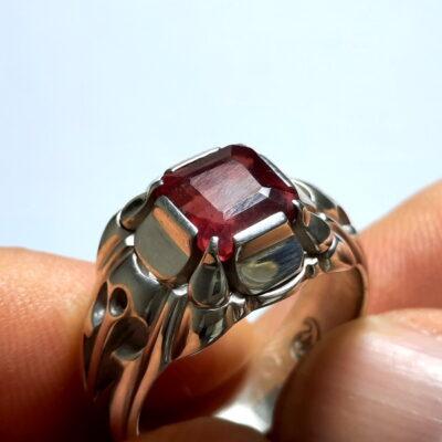 انگشتر یاقوت سرخ مردانه 376.1