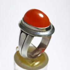 انگشتر نقره عقیق یمن a497