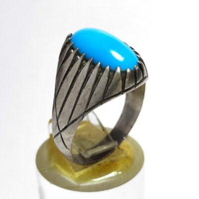انگشتر قدیمی فیروزه مصری 237
