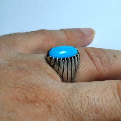 انگشتر قدیمی فیروزه مصری 237.4